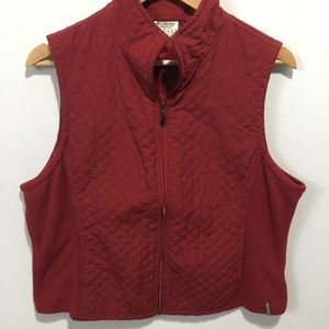 Columbia quilted winter vest. Large